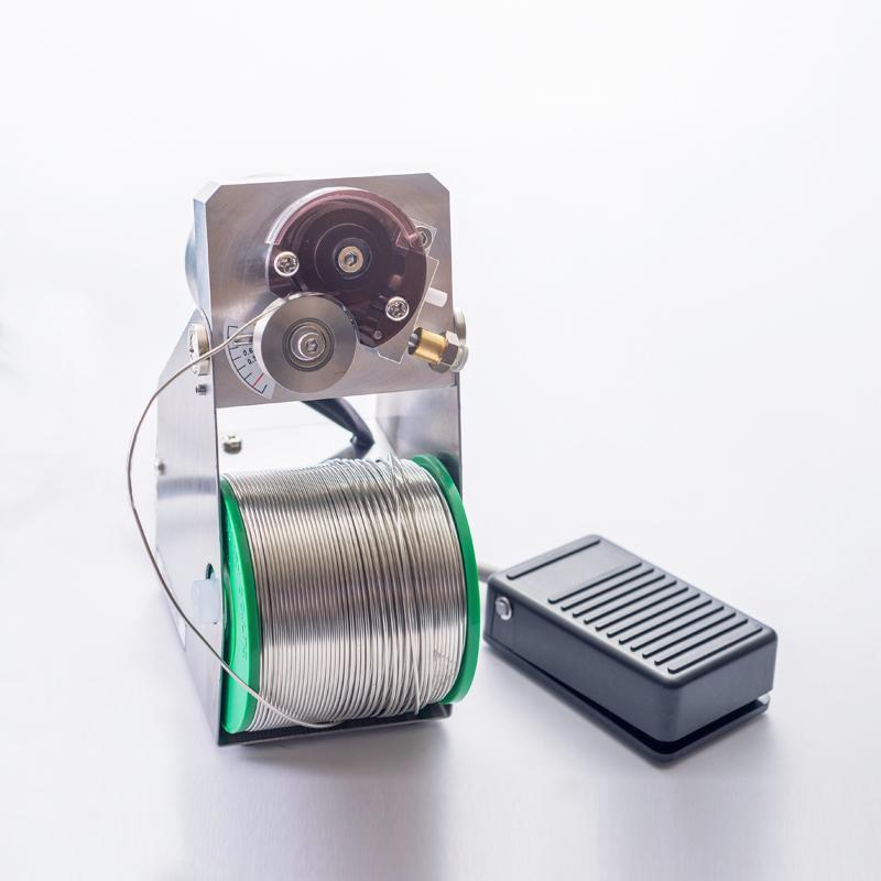 BON-8203 糸半田V溝加工装置